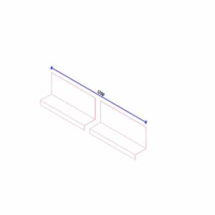 Кляммер НК финишный (17 и 22 мм) AISI430 t=1,5 мм