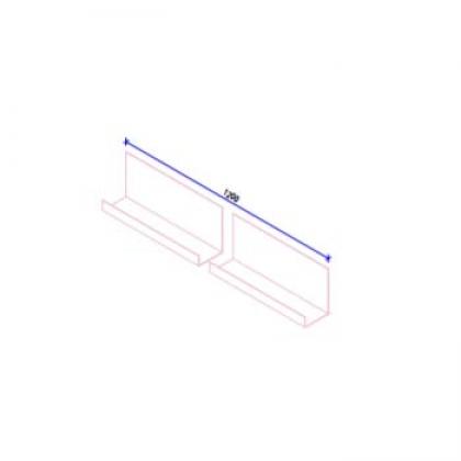 Кляммер НК стартовый (17 и 22 мм) AISI430 t=1,5 мм