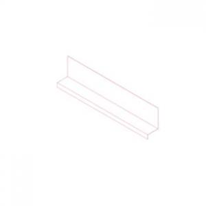 Шина НК финишная (17 и 22 мм) AISI430 t=1,5 мм L=1200 мм