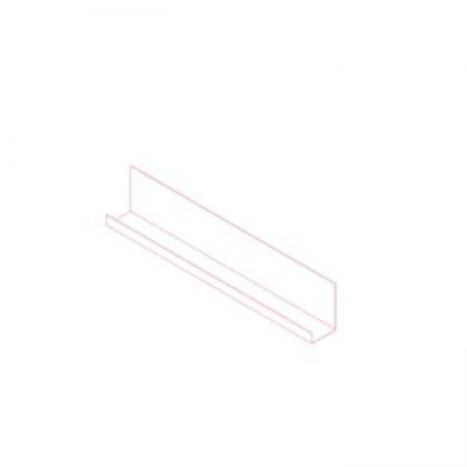 Шина НК стартовая (17 и 22 мм) AISI430 t=1,5 мм L=1200 мм