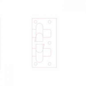 Кляммер угловой нерж.8-10 мм