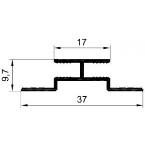 Профиль стыковочный 4 мм. PDP-1033