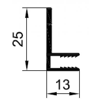 Профиль F-образный 4 мм PDV-1032
