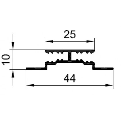 Профиль соединительный 4 мм/3 мм PDV-1034